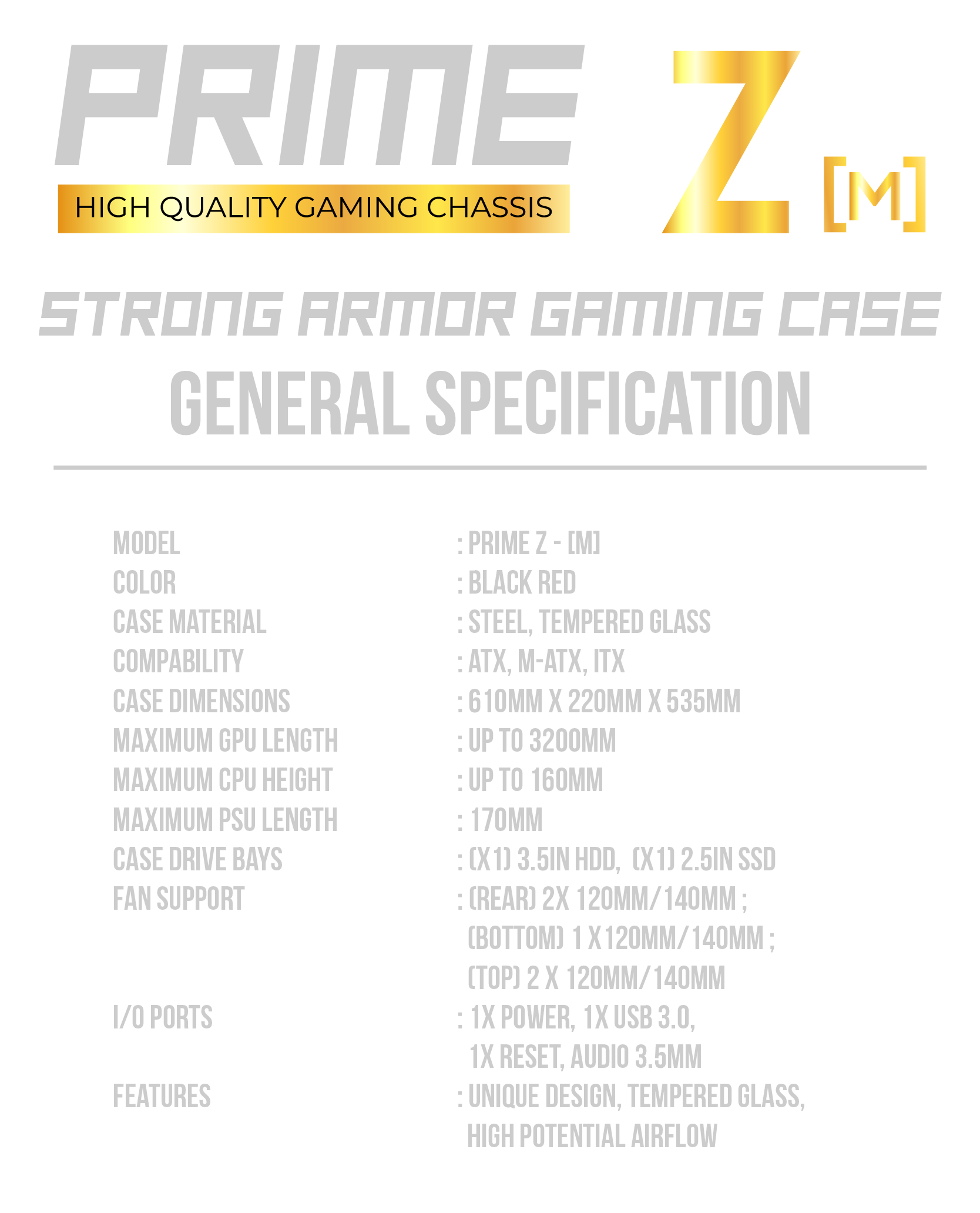 SPEC PRIME ZD-30-31