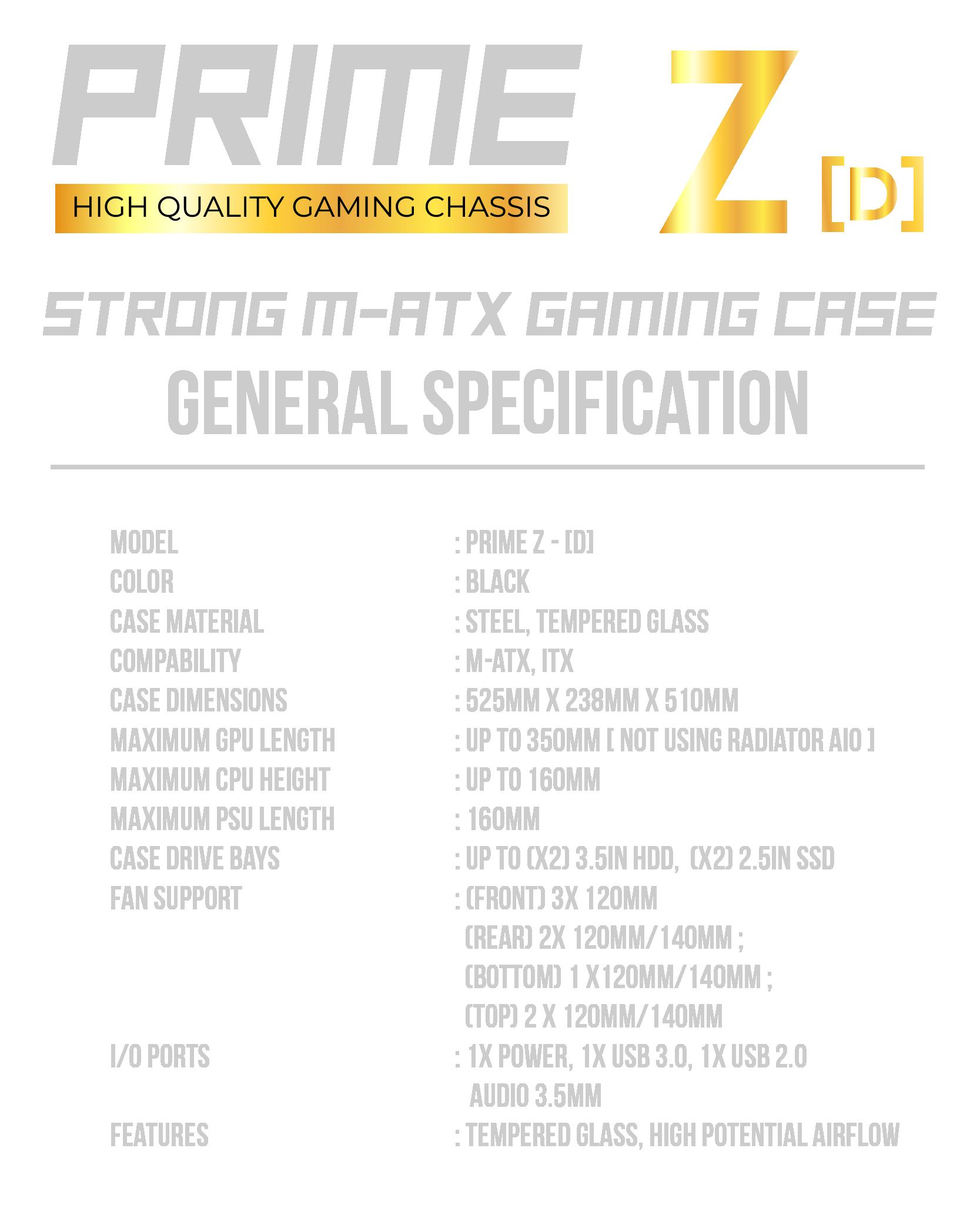 SPEC Prime ZM-31-31